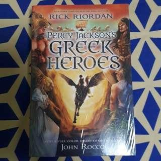 Percy Jackson's Greek Heroes – Rick Riordan - NEW