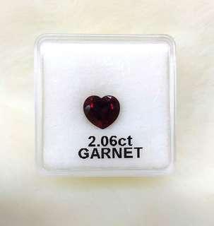 Garnet Gemstone (2.06CT)