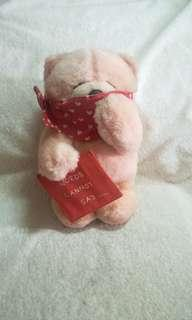 Authentic Plush Forever Friends Bear Toy