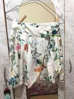 Stradivarius tie skirt