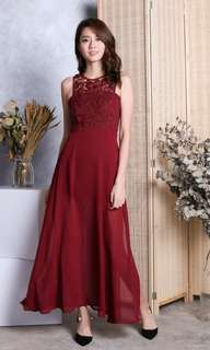 ac2ad35517f3 Long dress lace, Women's Fashion, Clothes, Dresses & Skirts on Carousell