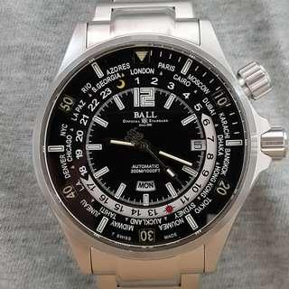 Ball Engineer Master World time DG2022A w papers