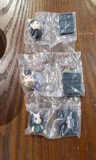 全新日本marvel扭蛋 雷神,洛基,螳螂女
