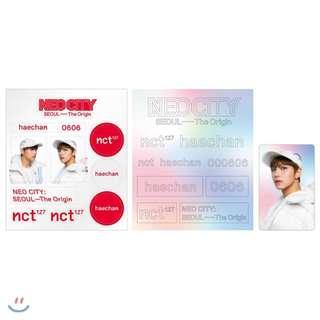 nct 127 concert merch - deco hologram set