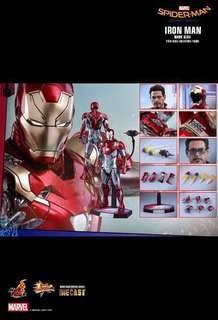 *PO* Hot Toys SPIDER-MAN: HOMECOMING IRON MAN MARK XLVII 1/6TH SCALE COLLECTIBLE FIGURE Mark 47 diecast
