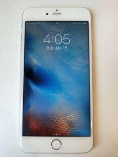 Like New iPhone 6S+ plus  (silver) 64gb perfect condition