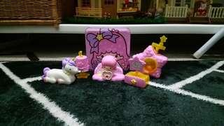 Sanrio My Melody Koeda Chan Kiki and Lala Playset