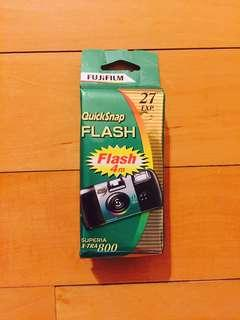 💯% UNOPENED Fuji Instant Camera 35mm w Flash 800 iso