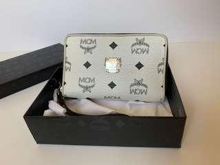 * CNY PROMO Authentic MCM Zipper Wristlet Wallet