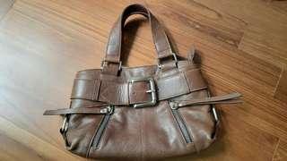 Tula Brown Leather Ladies Bag