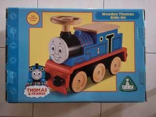 Wooden Thomas Train Ride On
