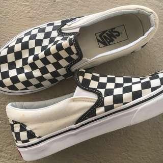 8f5506b24c9c Vans Checkerboard Slip-ons