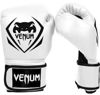 Venum Boxing gloves CLASSIC White Limited edition