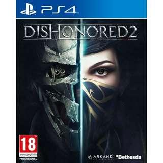 PS4 Dishonored 2 R2