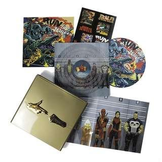 """Run The Jewels RSD 2018 Limited Edition Gold Collectors Box Set with 12"""" Clear Single Vinyl Record with Etching"""