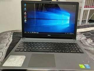 Laptop Dell i5 8gb ram 240 ssd