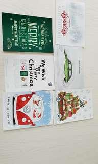 Volkswagen Christmas Postcards