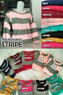 Roundhand stripes