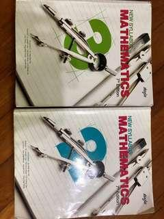 Selling Mathematics secondary 2 and 3 practice question books!