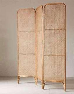 Rattan Screen Divider (Handmade Made To Order)
