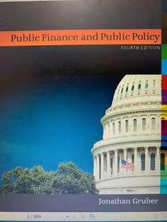 He2008 Public Finance and Public Policy textbook and midterm answer