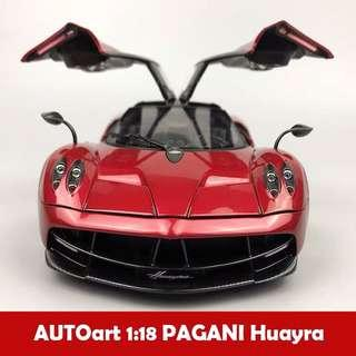 🚚 AUTOart奥拓 1/18帕加尼花雅Huayra風神車模合金收藏汽車模型