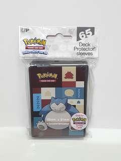 Pokemon Snorlax Deck Protector Card Sleeves (65Pcs)