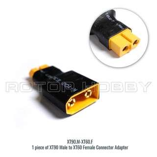 XT90 Male to XT60 Female Connector Adapter