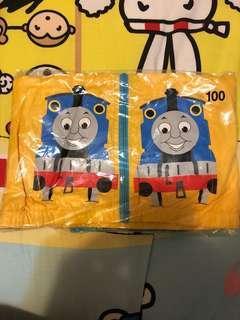 Thomas 藍黃色拉鍊長袖風褸 size 100(半價)
