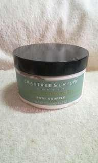 Authentic Crabtree & Evelyn Pear & Pink Magnolia Body Soufflé