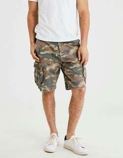 🚚 全新正品American Eagle/AE迷彩口袋造型休閒短褲