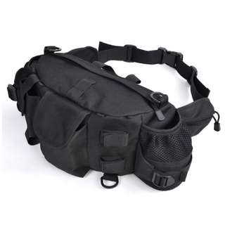 02 Open-Minded Outdoor Tactical Multi-function Leg Bag Cycling Canvas Waist Bag Fishing Gear Bag Mens Bag Waist Hanging Sports Pocket Fine Jewelry