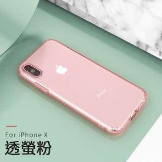 🚚 Iphone7/8 透明粉 轉音殼