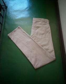 H&M Slim Fit Button Fly Chinos Pants (32)