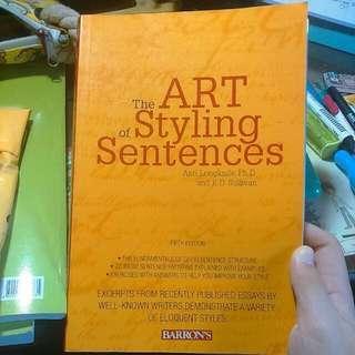 🚚 原文書 英文寫作The art of styling sentences