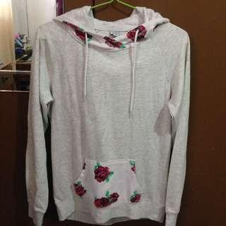 Deactivating account sale!! Gray and rose hoodie