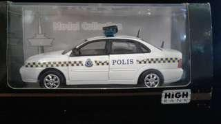Malaysia Polis Car PROTON WAJA Diecast 1/32