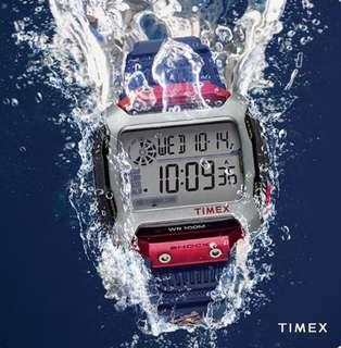 "Timex ""Command"" X 54mm- Red Bull 'Limited Edition' Cliff Diving Edition"