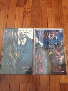 DC Batman Manbat comics