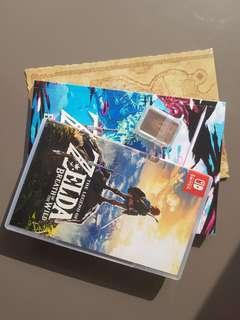 Zelda Breath Of The Wild + Zelda Explorer's Guide+ Map + 22 Amiibo cards