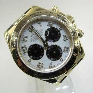Pre Owned Rolex Daytona Cosmograph 116518
