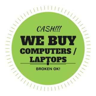 WE BUY IN CASH