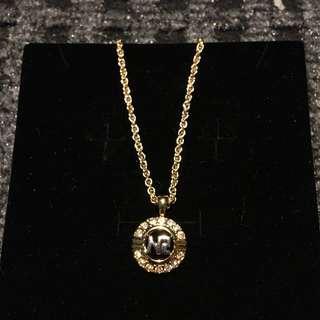 Nina Ricci Round Pendant and Necklace