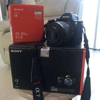 Sony A7 + Lens 50mm