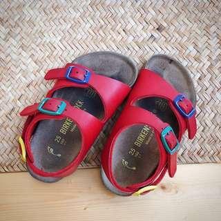 🚚 1/16免運 二手 幼童勃肯Birkenstock 男女童涼鞋14.5~16公分適穿 童鞋