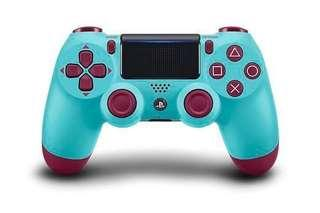 🏮CNY SALE🏮 Sony PS4 controller DS4 dualshock 4 wireless controller 2018 [New Color] Berry blue