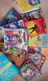 Old Childhood Books(includes pokemon, digimon and more!)
