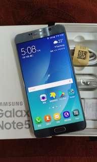 SAMSUNG Note5 32G Silver