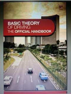 BASIC THEORY OF DRIVING THE OFFICIAL HANDBOOK 9th edition