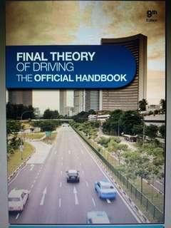 FINAL THEORY OF DRIVING THE OFFICIAL HANDBOOK 9th edition